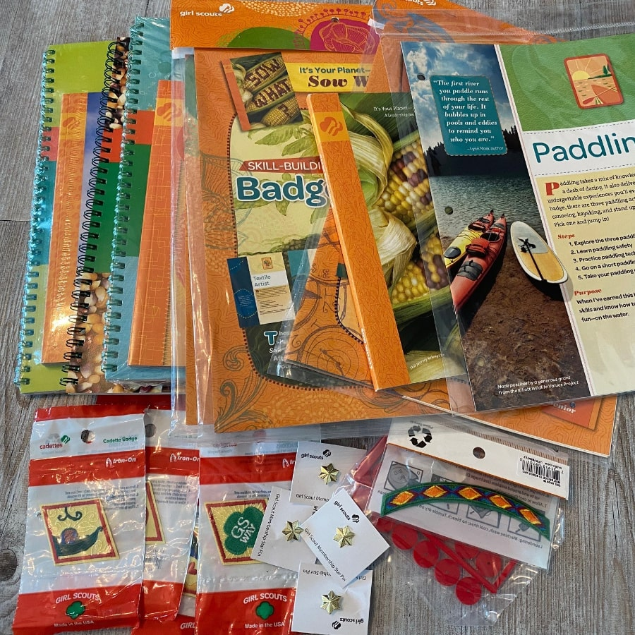 products-purchased-girl-scout-materials